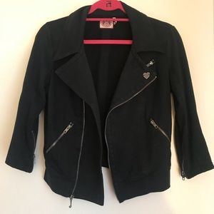 Stretchy juicy couture motor jacket